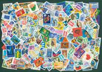 France - 250 stamps 1990-2000