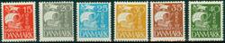 Danmark 1927 Karavel komplet - AFA 169-74 - Postfrisk **