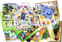 Nordkorea 2008 postfrisk, 17 miniark og 62 frimærker