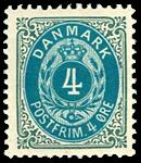 Danmark 1902 - AFA nr.23C Postfrisk