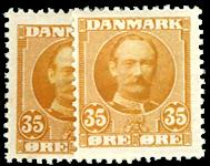 Danmark 1912 - AFA nr.63,a Postfrisk