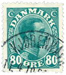 Danmark 1915 - AFA nr.84 Stemplet