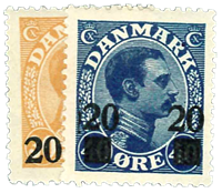 Danmark 1926 - AFA nr.152-53 Postfrisk