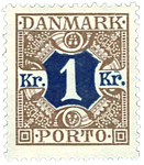 Danmark 1926-27 - AFA nr.19 Postfrisk