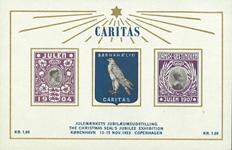 Danmark 1953 Caritas julemærkets jubilæumsudstilling