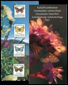 Groenland - Papillons présentation souvenir