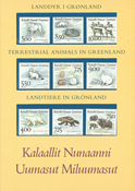 Grønland - Landdyr souvenirmappe