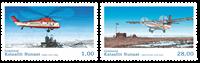 Grønland - Grønlands civile luftfart - Postfrisk sæt 2v