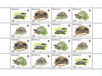 Monaco - WWF - Mint souvenir sheet