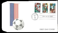 USA - VM i fodbold 1994 - førstedagskuvert med sæt