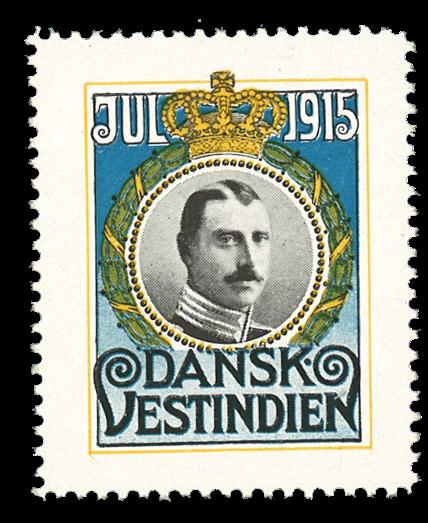 DVI julemærke 1915