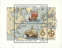 Island 1992 - AFA nr.757 # miniark