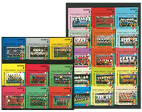 FIFA World Cup 1990 - 24 stamps - Mint
