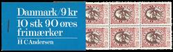 Danmark 1975 - H.C. Andersen hæfte