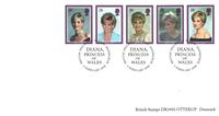 Great Britain - Princess Diana - Mint set 5v
