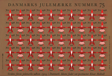 Danmark juleark 1978 utakket