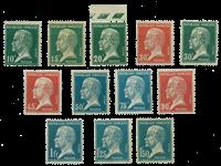 France - YT 170-181 - Mint