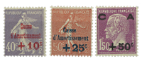 France 1927 - YT 249-51 neuf - Neuf