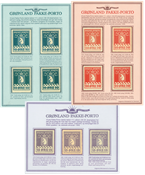 Greenland - Parcel stamps no. 3 - Reprints
