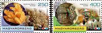 Ungarn - Halvædelsten og lampe 3D - Postfrisk sæt 2v
