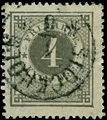 Sweden 1872 - AFA no. 18 cancelled