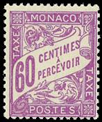 Monaco portomærker postfrisk YT 22