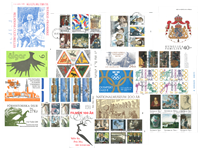 Sverige 9 frimærkehæfter luksus-stemplet