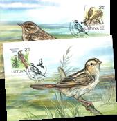 Lithuania - Birds - Maxi Cards