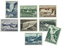 Iceland 1956 - AFA no. 304-11 - Mint