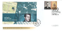 Hungary - Wallenberg joint issue - First Day Cover