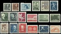 Sverige - 1951-59 postfrisk