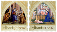 Åland - Christmas 2013 - Mint set 2v