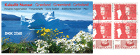 Greenland booklet no 1 cancelled