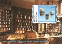 Belgien - Apotek - Postfrisk miniark