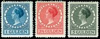 Netherlands - NVPH 163-165 - Mint