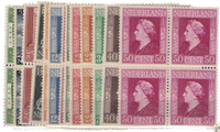 Netherlands 1944-46 -NVPH 428-44 - Mint - Block of  4