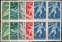 Netherlands 1948 - NVPH 508-512 - Mint - Block of 4