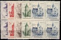 Netherlands 1951 - NVPH 568-572 - Mint - Block of4