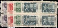 Netherlands - NVPH 58 - Block of 4