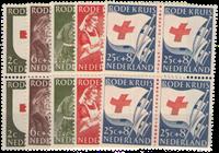 Netherlands 1953 - NVPH 607-611 - Mint - Block of4