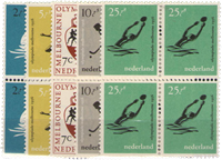 Netherlands 1956 - 676-680 - Mint - Block of 4