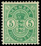 Danmark 1902 - AFA nr.34C Postfrisk