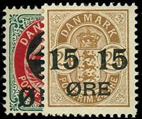 Danmark 1904 - AFA nr.40-41 Postfrisk