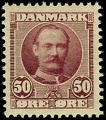 Denmark 1907 - AFA no. 58 mint