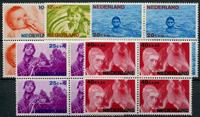 Netherlands 1966 - NVPH 870-874 - Mint - 4 block