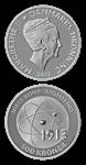500 kr. sølv - Niels Bohr