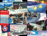 Greenland 18 bklt 1989-2002