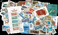 Sovjetunionen årgang 1986 stemplet med miniark