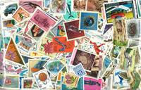 3000 francobolli mondiali differenti nuovi