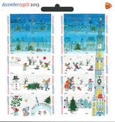 Holland - December frimærker - Postfrisk småark